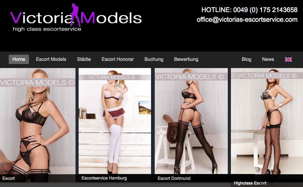 Vicoria Models der High Class Escort Service